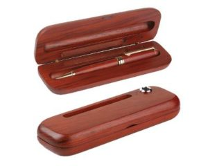 Business promo Brown Wood Case