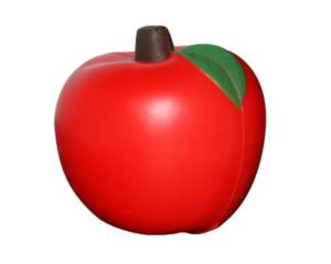 Best promotional Stress Apple Red