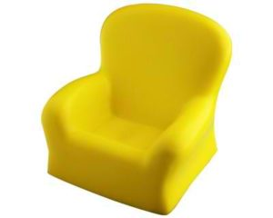 Personalised Stress Chair Yellow