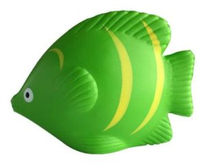 Best promotional Stress Hot Tropical Fish Green