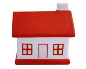 Best promotional Stress House Red & White