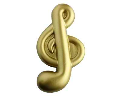 Stress Musical Note