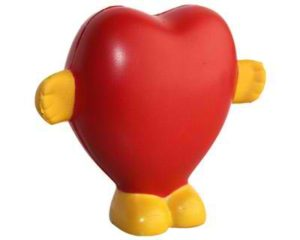 Personalised Stress Standing Heart