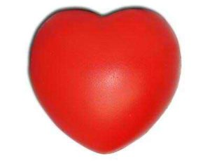 Best promotional stress red heart