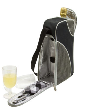Branded 2 Person Wine Bag