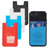 9113 Silicone Mobile Phone Wallet