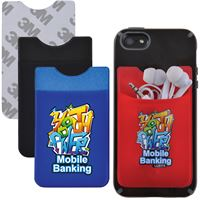 Customized 9115 Lycra Mobile Phone Wallet