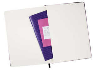 Personalised A5 City notebook with elastic2