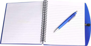 Personalised A5 Spiral Notebook and Pen