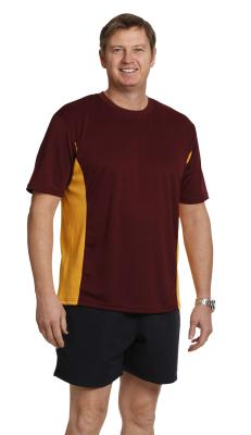 Branded Adults' Cooldry Contrast Tee (unisex) Sydney