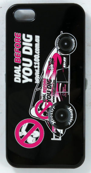 Customized DBYD Pink iPhone Cover