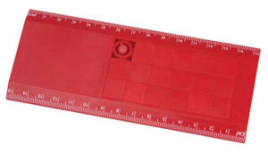 Promo Puzzle Ruler red
