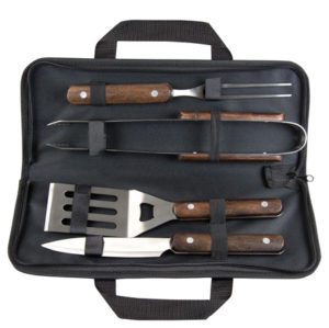 Promotional Wooden BBQ Tool Set