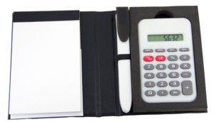 Customized Notepad with Pen & Calculator