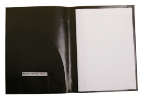 Business promo Leather A4 notepad cover