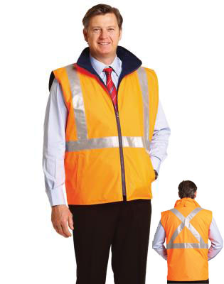High Visibility Reversible Safety Vest