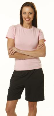 Branded Ladies' Fitted Stretch Tee Shirts