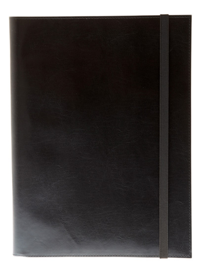 Leather A4 notepad cover