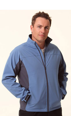 Personalised gift Men's Contrast Softshell Jacket