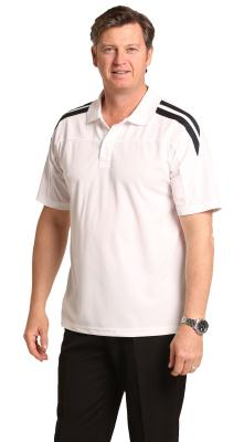 Branded Men's Cooldry Contrast Polo
