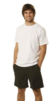 Branded Men's Fitted Stretch Tee Shirts