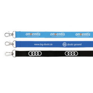 Promotional Polyester Ribbed material, Our best selling lanyards Width: 15mm, 20mm, 25mm MOQ: 100 pcs