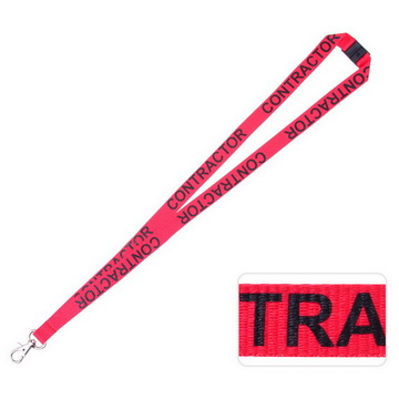 PCLP01 Contractor Lanyard