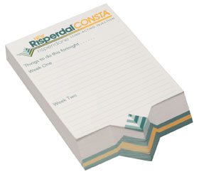 Personalised gift Slope Pads