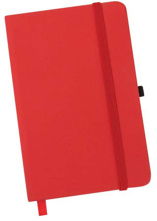Urban notebook with elastic
